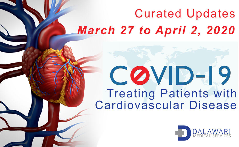 concept image - COVID-19 cardiovascular updates march 27-april 02, 2020