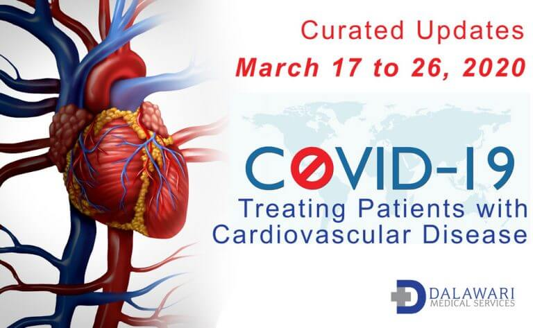concept image - COVID-19 cardiovascular updates march 17-26, 2020