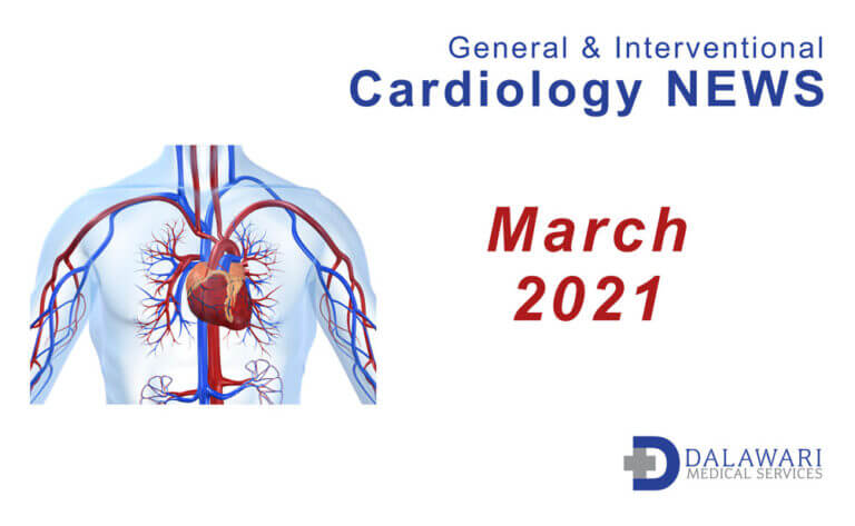 Image - Cardiology News curated by Dalawari Medical Services March 2021
