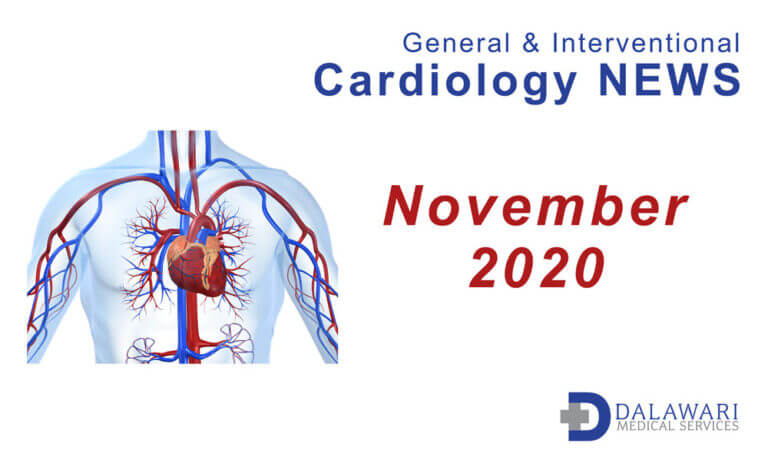 Image - Cardiovascular News curated by Dalawari Medical Services November 2020